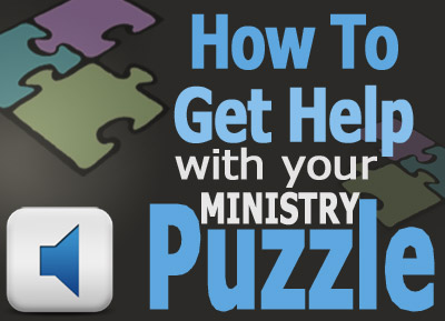 Getting Help With Your Music Ministry Puzzle